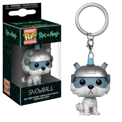Rick and Morty Pop! Keychains