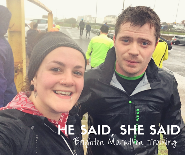 FitBits | Brighton Marathon Training week 2 - RunBrighton - Tess Agnew fitness blogger