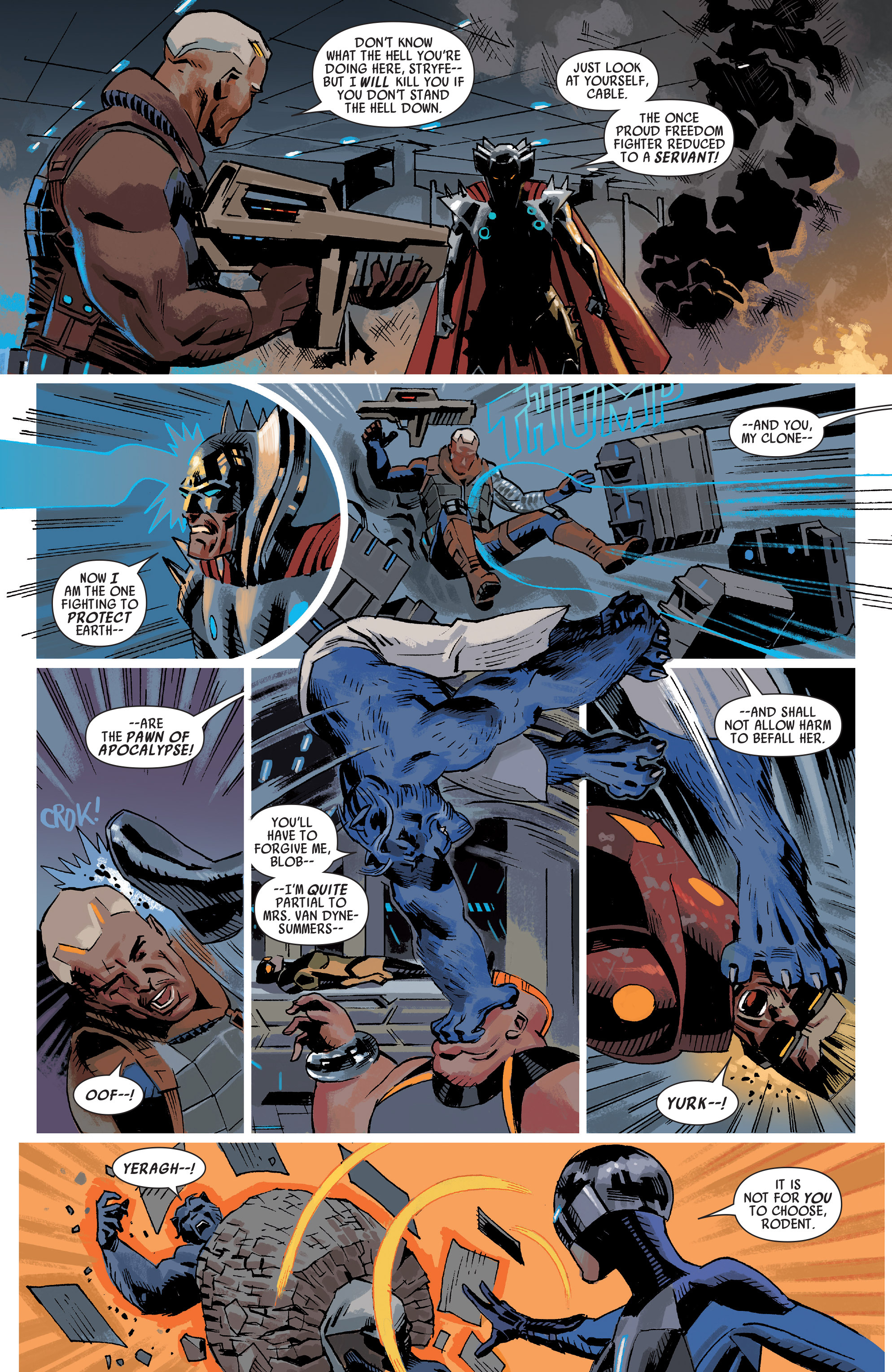 Read online Uncanny Avengers (2012) comic -  Issue #20 - 5