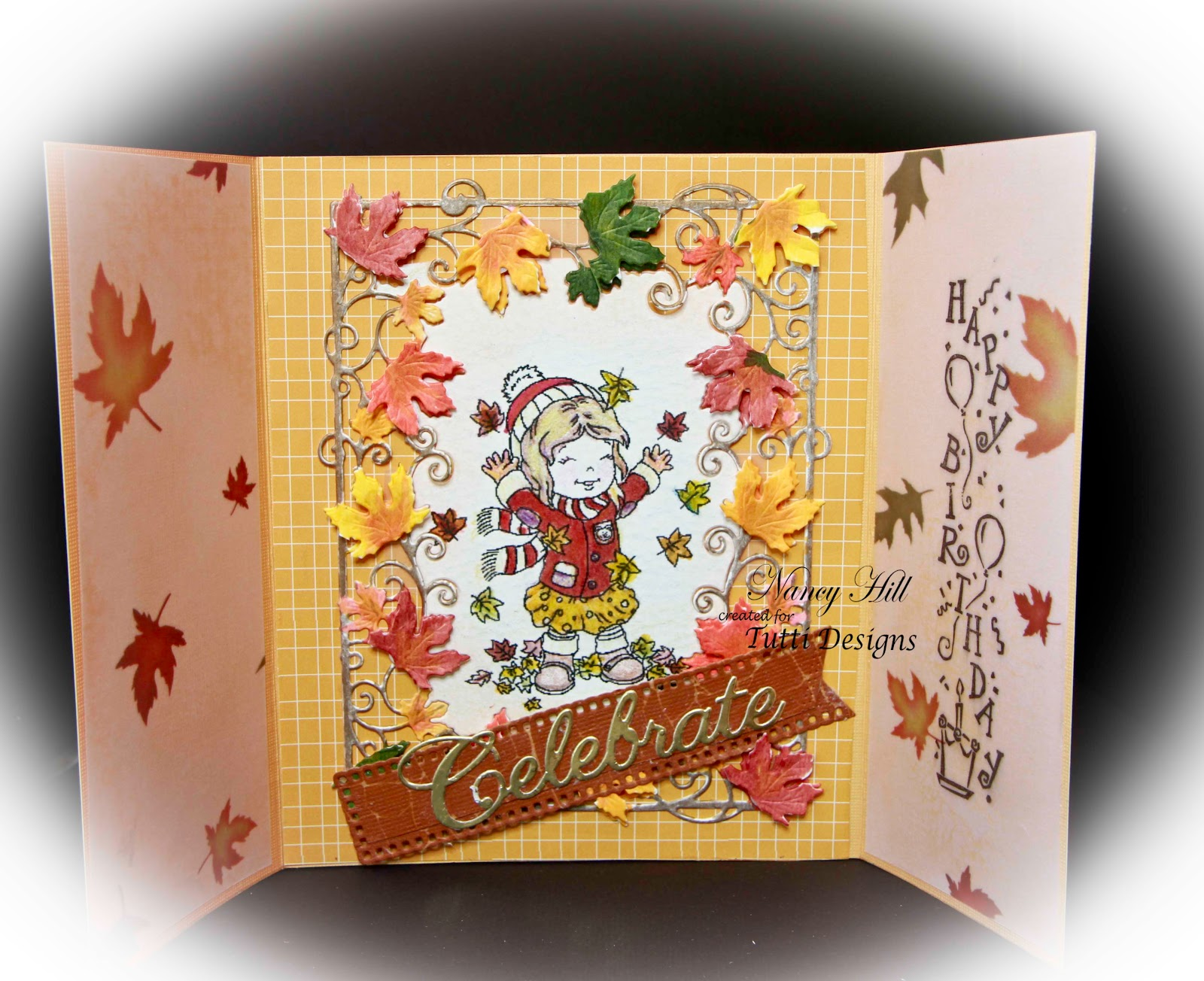 Tutti Designs Fall Birthday Card