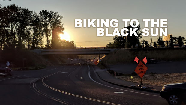 BIKING TO THE BLACK SUN
