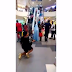 Girl Proposes to her Boyfriend at Ikeja City Mall Lagos , See what he did
