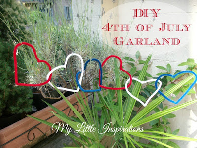 4th Of July Top 5 Projects - Last Minute Garland - MLI