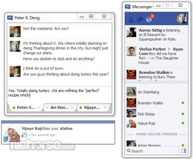 Facebook Messenger 2.14814 - Nói Chuyện Facebook Ngay Trên Desktop