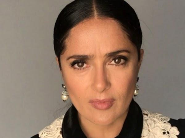 Salma Hayek dona 100 mil dólares para víctimas del sismo