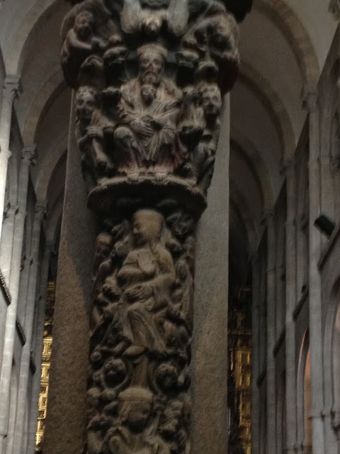 by E.V.PITA (2013) / Portico da Gloria of Santiago de Compostela (Spain)