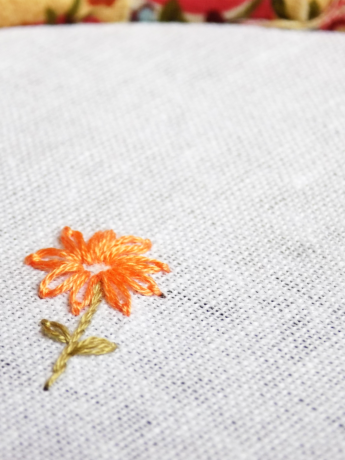 lazy daisy stitch tutorial