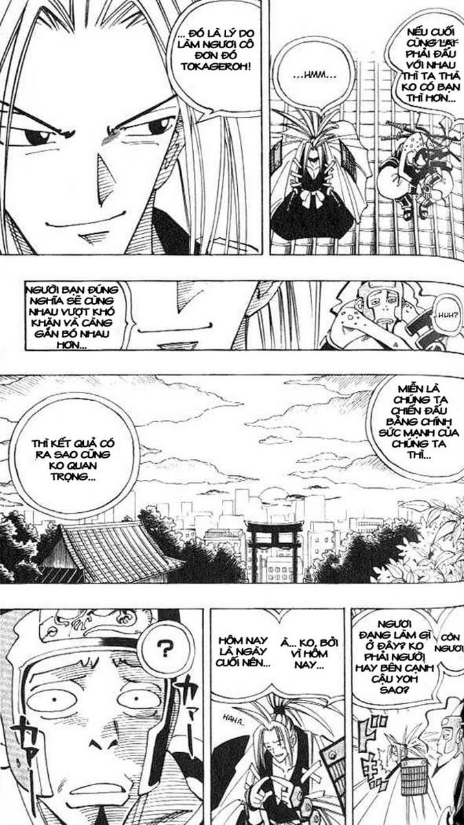 Shaman King [Vua pháp thuật] chap 77 trang 14