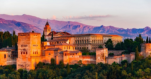 Charles V Palace Granada, Granada Spain, Barcelona, Madrid, Granada, Spain, Tourist Attraction, Things to do, Places to see, Historical Places, Historical Architecture,