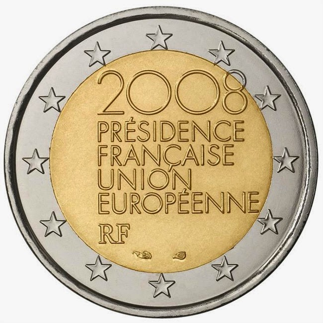2 euro France 2008, French Presidency of the Council of the European Union