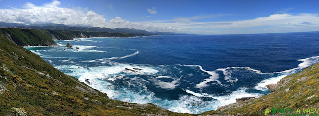 Panorámica desde el Cabo Vidio