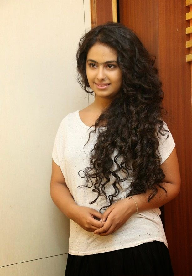Avika Gor   new stills http://www.softstills.com/2014/11/avika-gor-latest-photo-shoot-in-white.html