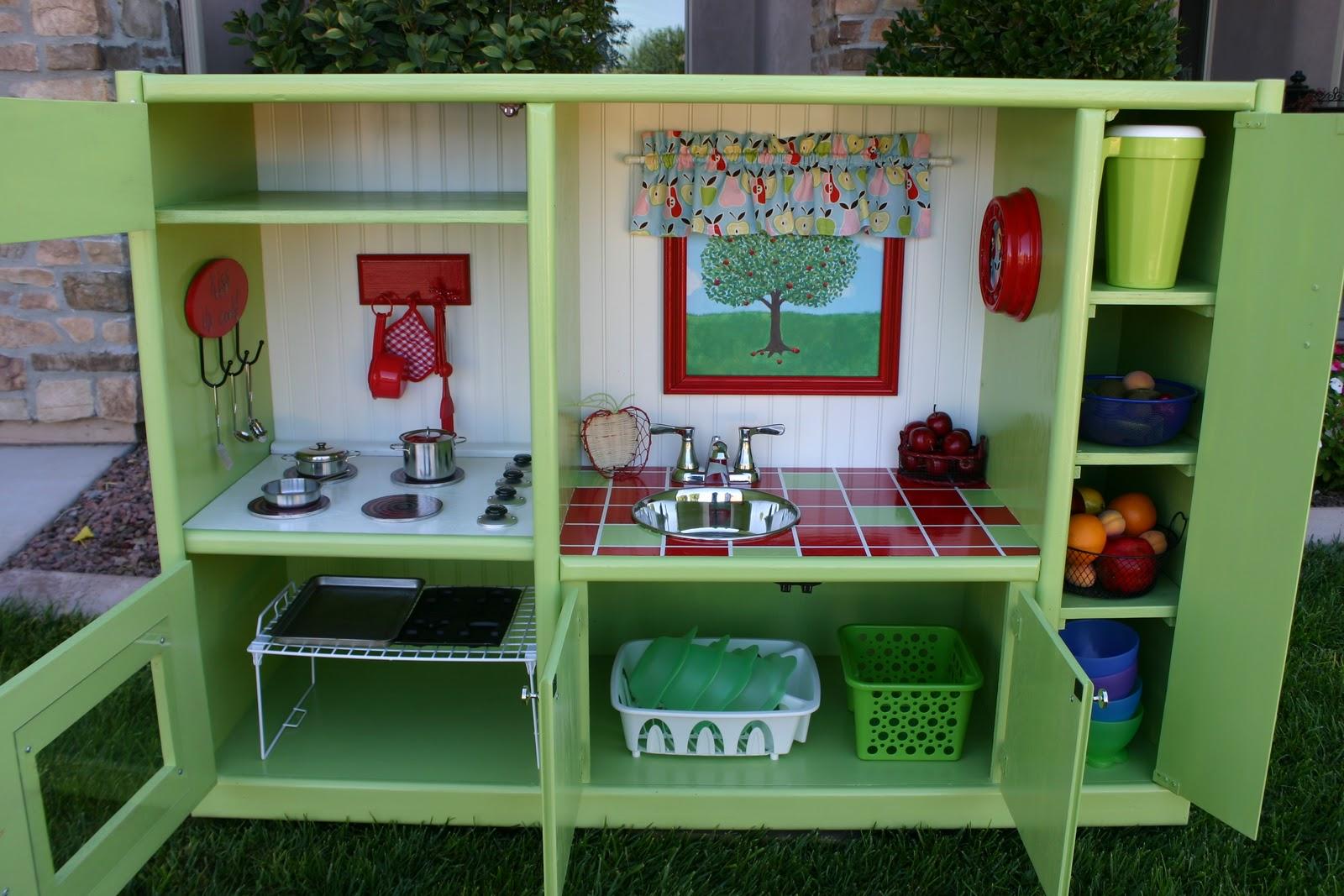 Best Pretend Kitchen Set: Doubletake Decor: Play Kitchen That Will Last