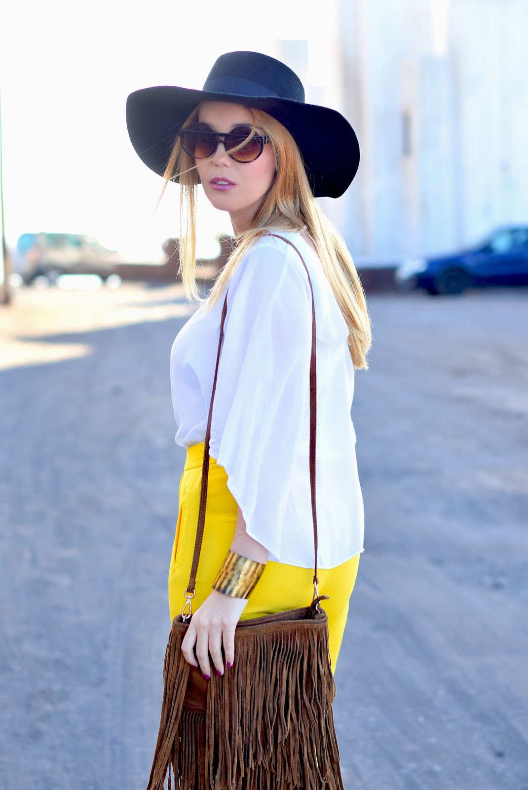 nery hdez, coachela look, fringes bag, freyrs, boho-chic
