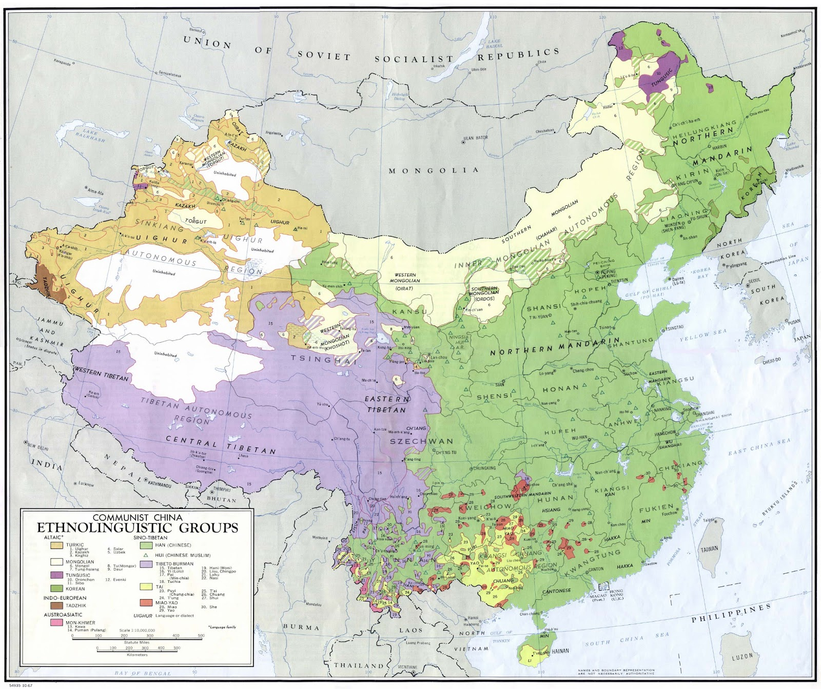 China | Mapas Geográficos da China