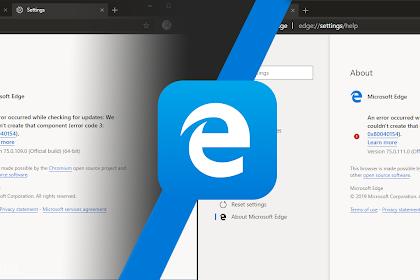 Microsoft Edge Berbasis Chromium Bisa Menggunakan Dua Engine Berbeda!