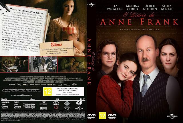 Capa DVD O Diário de Anne Frank [Exclusiva]