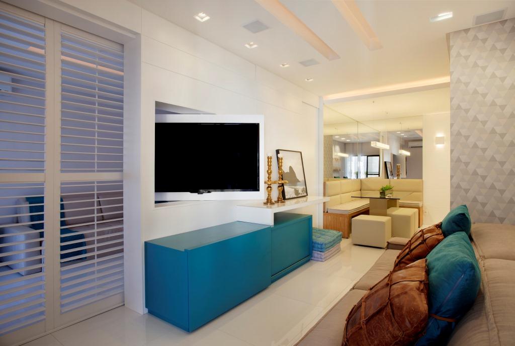 Apartamento pequeno com dicas e truques de decora o que for Apartamentos modernos 2016