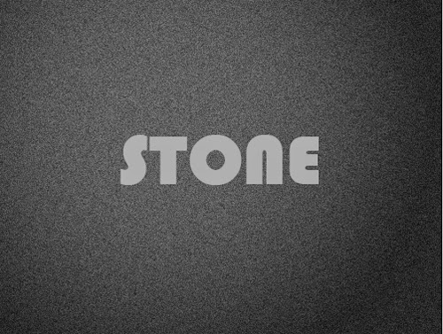 Create Simple Stone Text Effect