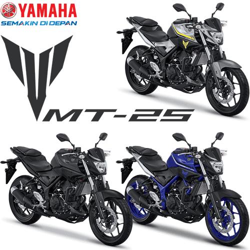 Pilihan Warna Yamaha MT 25