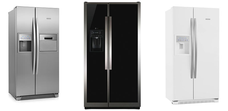 Construindo minha casa clean tipos de geladeira como for Geladeira 2 portas inox
