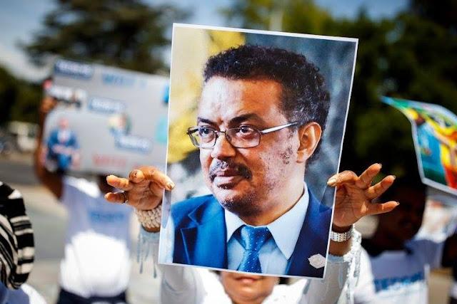 Ethiopia's Dr Tedros Adhanom Ghebreyesus