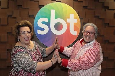 Mamma Bruschetta e Leão Lobo. Crédito da imagem: Leonardo Nones/SBT