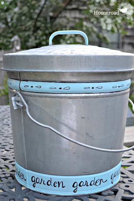 How to age shiny galvanized steel for your outdoor soil