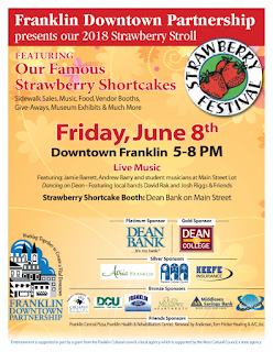 Strawberry Stroll - Downtown Franklin - June 8