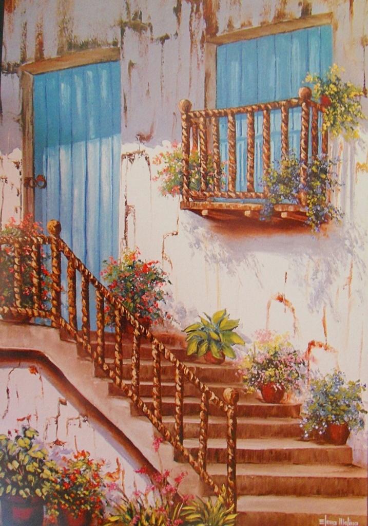 Cuadros modernos pinturas y dibujos im genes de pinturas - Cuadros estilo colonial ...
