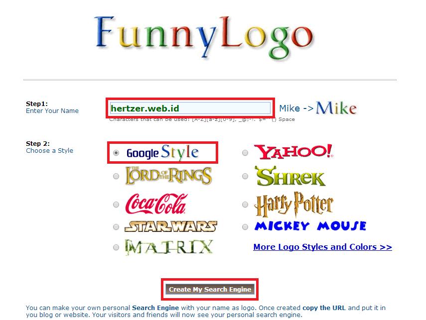 Cara Mengubah Tampilan Google dengan Nama Sendiri