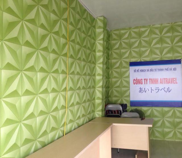 Giấy dán tường cách âm giúp tăng tính thẩm mỹ cho không gian
