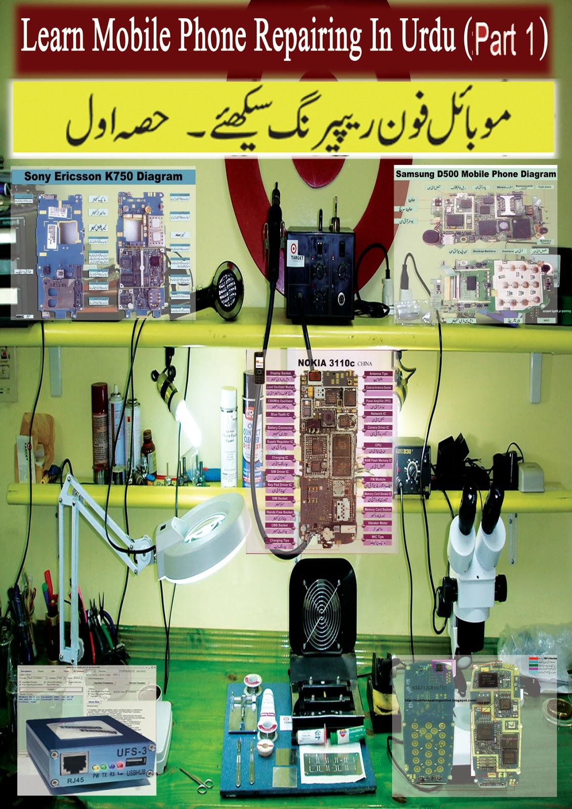 Mobile Repairing Diagram in Urdu   MobileRepairingOnline