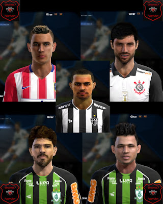PES 2013 Facepack by Bruno7 Facemaker Updt 2016 by Bruno7 Facemaker