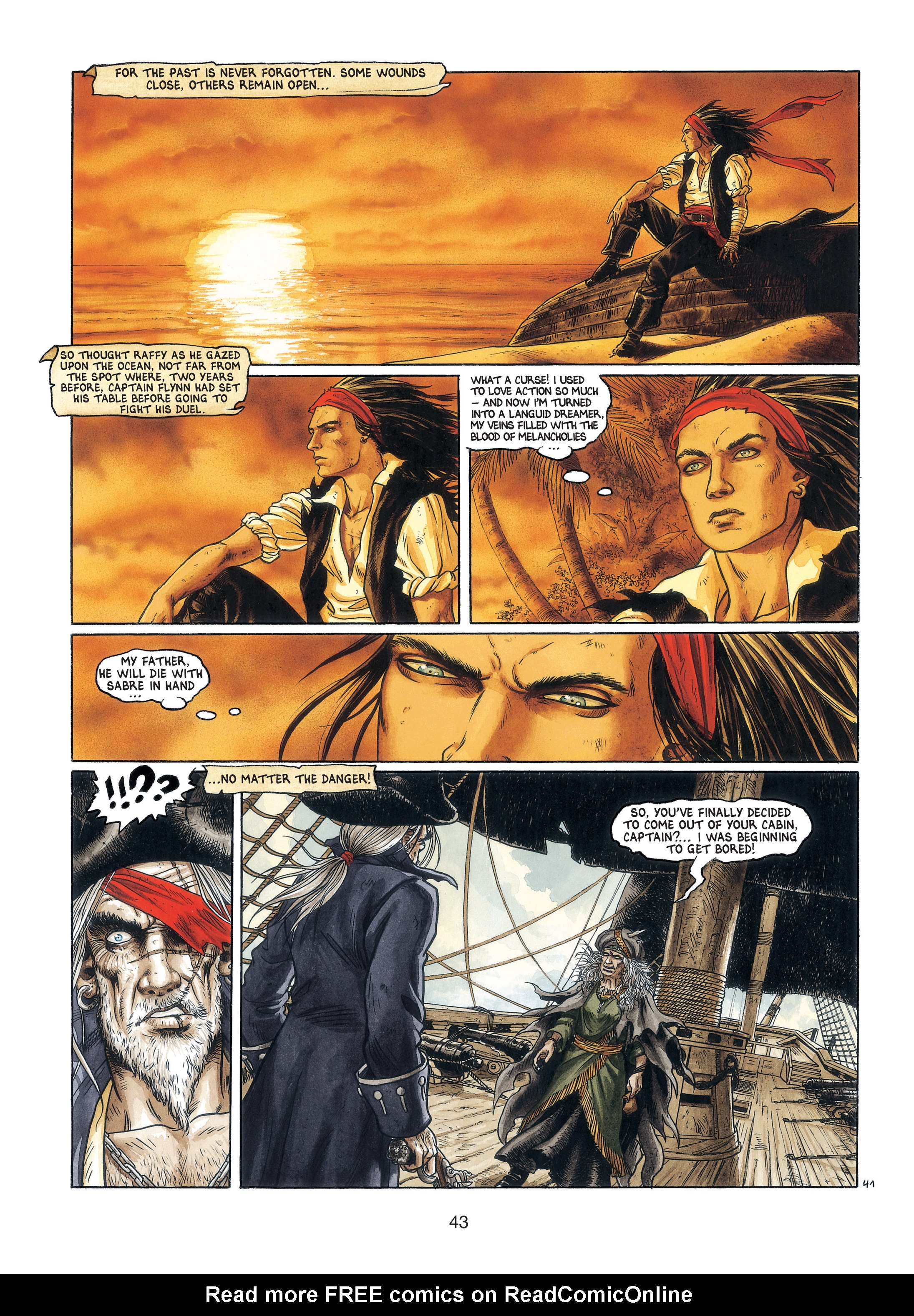 Read online Barracuda comic -  Issue #3 - 44