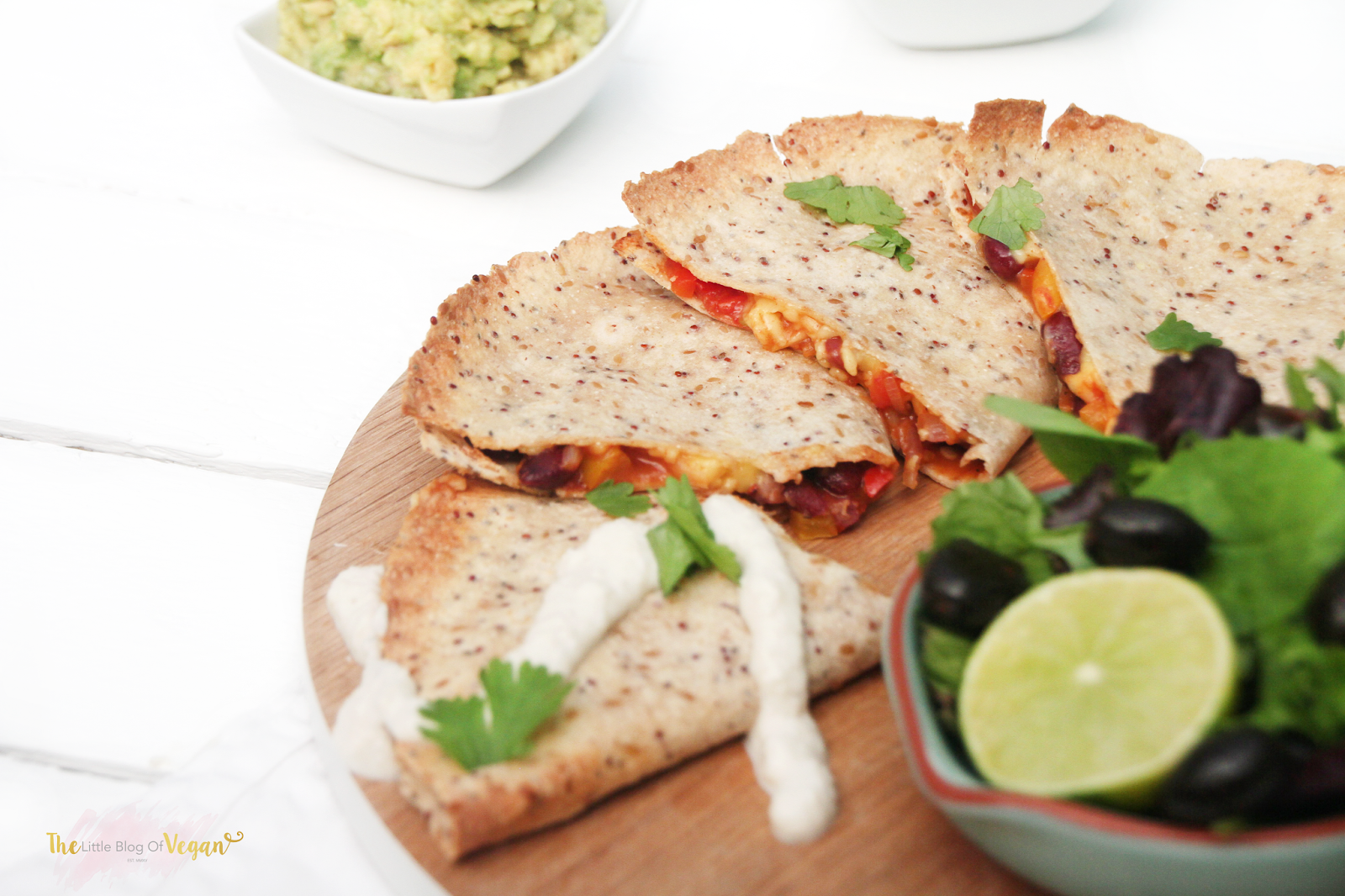 Spicy quesadillas the little blog of vegan mexican food is one of my favourite dishes to make and during this summers heat wave what better way to enjoy the sun than with some delicious forumfinder Images