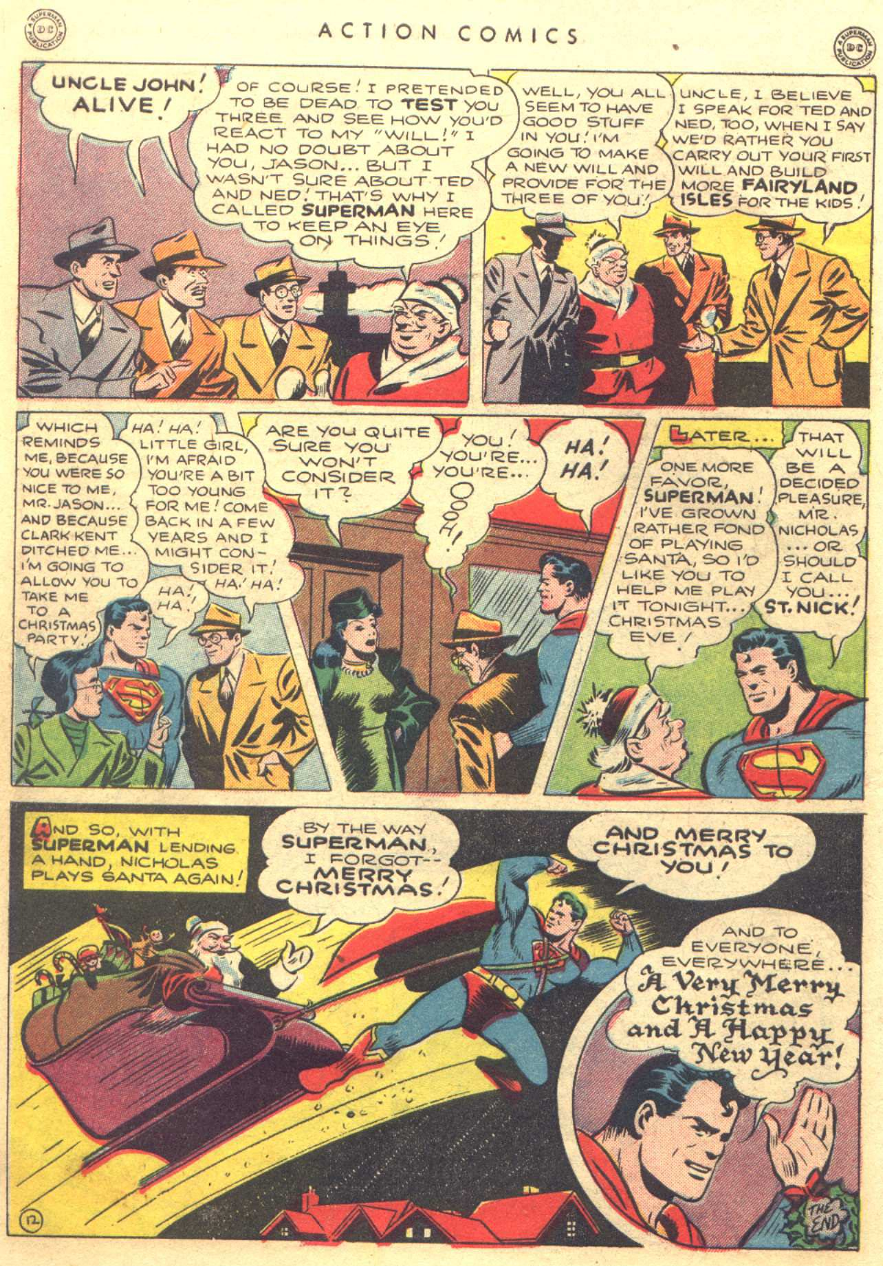 Read online Action Comics (1938) comic -  Issue #81 - 14