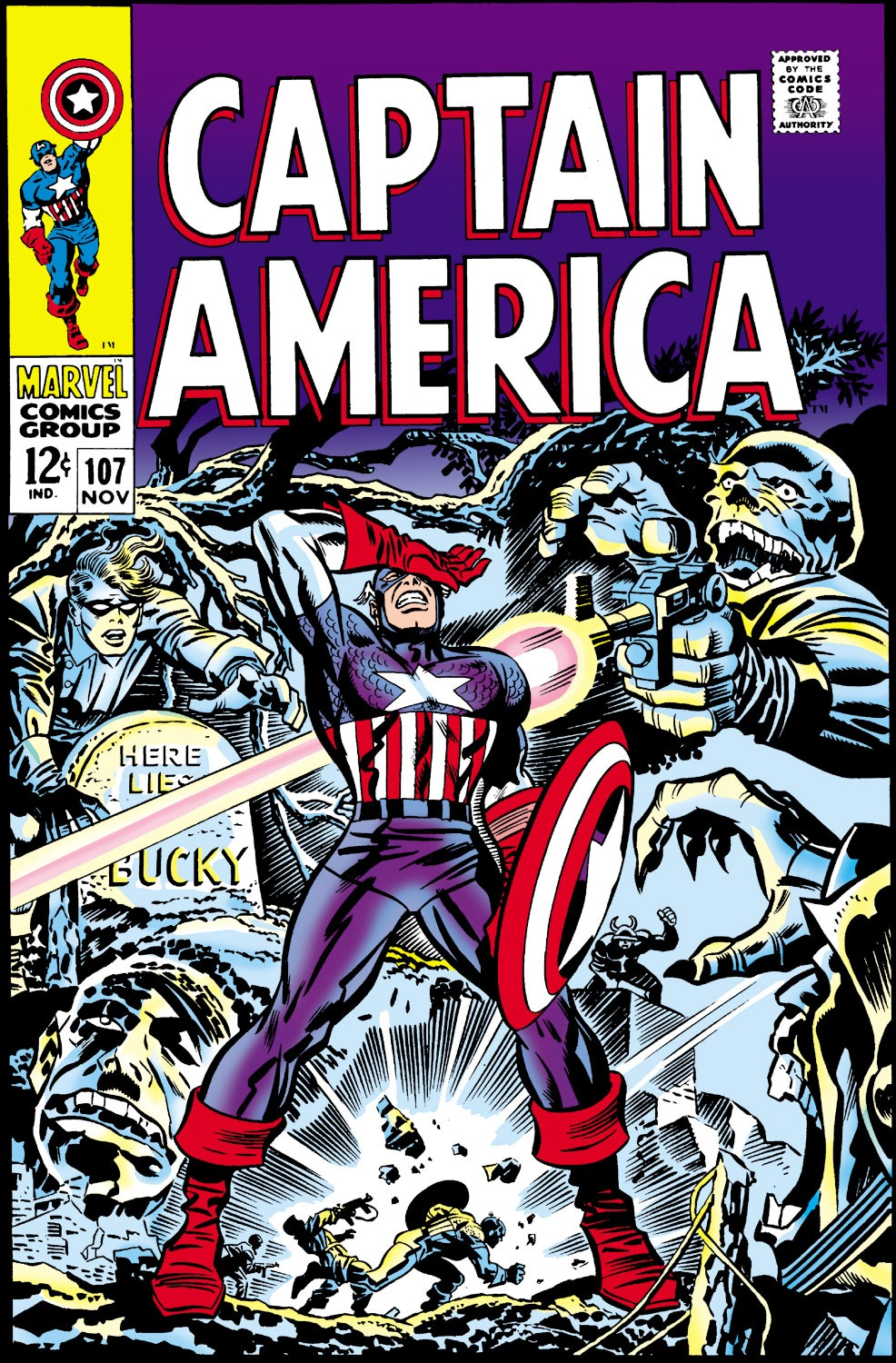 Captain America (1968) Issue #107 #21 - English 1