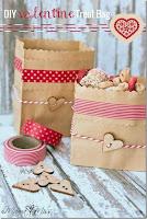 tutorial paso a paso de como decorar una bolsa de regalo