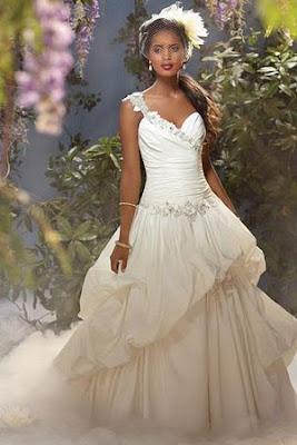 vestido noiva princesa disney wedding dress tiana saco drapeado conto de fadas moderno diferente