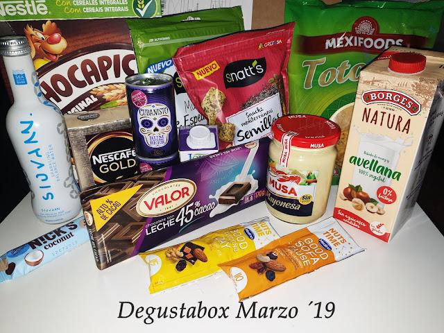 Degustabox Marzo ´19 - Mi última cajita