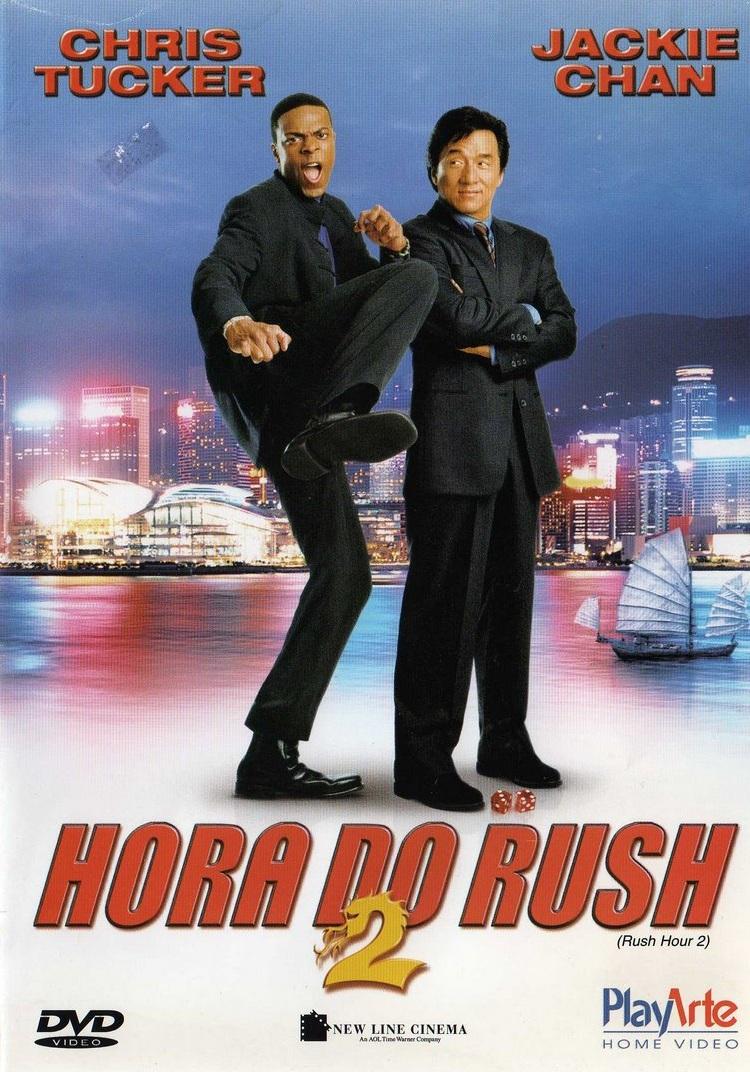 Poster do filme A Hora do Rush 2