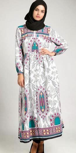 Desain baju muslim modern untuk orang gemuk