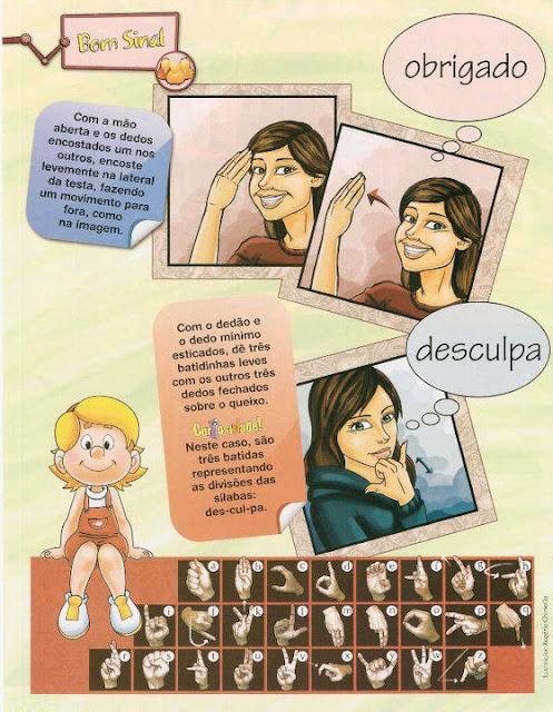 Sinais de LIBRAS: Apresentação pessoal e cumprimentos