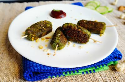 Hara bhara Kabab,cutlets,Tikkis,snacks,appetizer