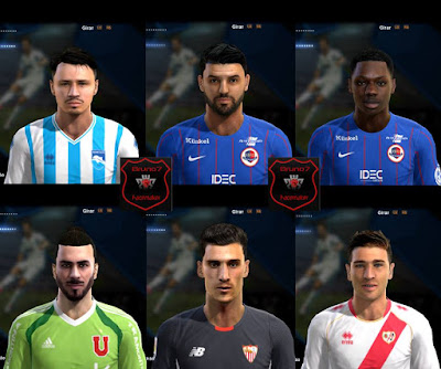 PES 2013 Facepack V.2  Bruno7 Facemaker