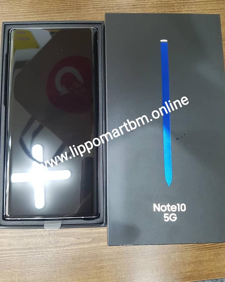 JUAL SAMSUNG GALAXY NOTE 10 PLUS BERGARANSI ORIGINAL