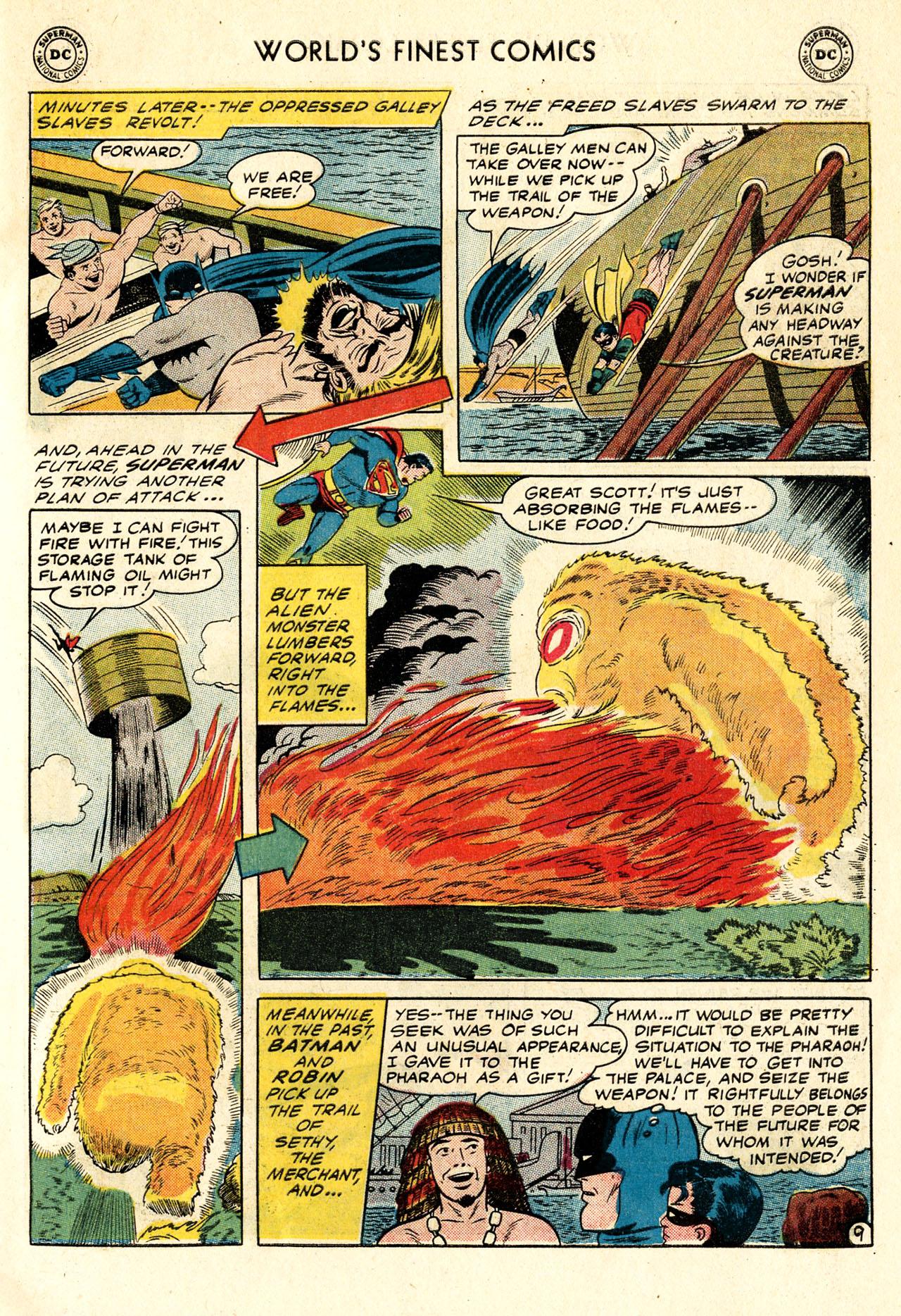 Read online World's Finest Comics comic -  Issue #107 - 11