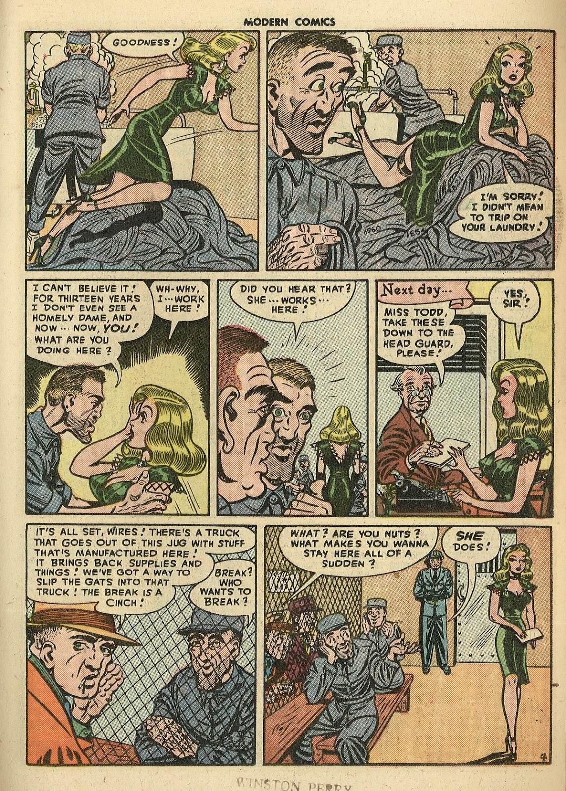 Comic Modern Comics issue 26