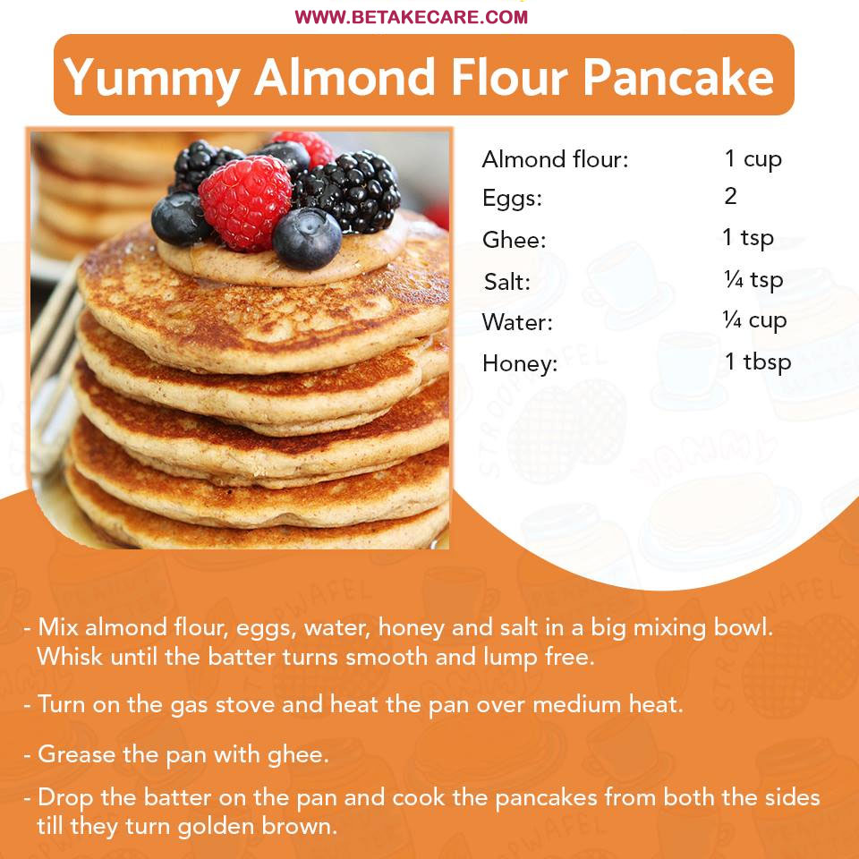 Yummy Almond Flour Pancake